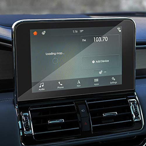 QOHFLD perLincoln Navigator U554 2018-2020,10 Pollici Car Styling GPS Schermo di Navigazione Pellicola Protettiva in...