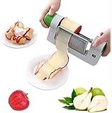Cortador de hojas de frutas y verduras, elegante cortador multifuncional, triturador de verduras, frutas, patatas y zanahorias, equipo multifuncional en la cocina