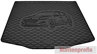 Proposteonline Vasca Tappeto Copertura Multiuso per Baule Bagagliaio Auto Nera Compatibile con Mitsubishi Pajero 3 Porte dal 2000 in Poi 3714