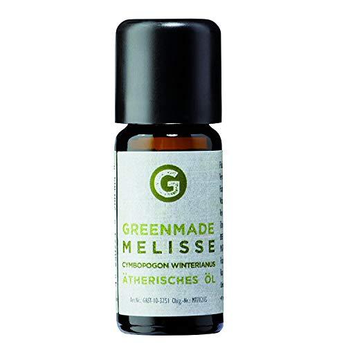 Melisse Öl 10ml - 100% naturreines, ätherisches Öl von greenmade