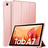 ZtotopCase for Samsung Galaxy Tab A7 10.4 Inch 2020 Release (SM-T505/SM-T500/SM-T507), Trifold Standing+Full Protective Case for 10.4 Inch Samsung Galaxy A7 2020 Tablet, Rosegold
