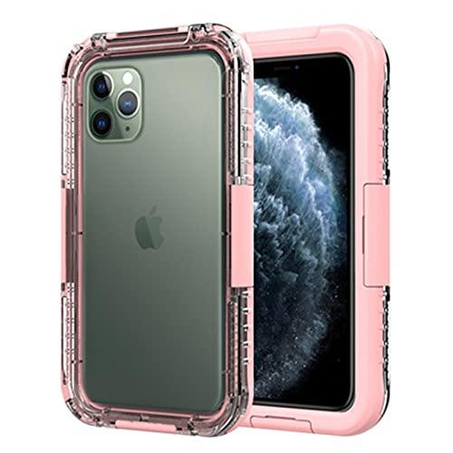 Fundas y Carcasas para teléfonos móviles Adecuado para iphone11Pro a Prueba de Agua,Pink,iphone11ProMAX