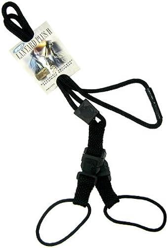 EK Accessories Ek noir Id Badge Longe Plus II Avec Ends doux et deux boucles en nylon détachables (10760) Ek Usa