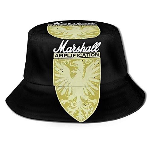 DDONEA Marshall-Amplificación Sombrero de Pescador Plegable Unisex Sombrero de Cubo Sombrero Vintage...