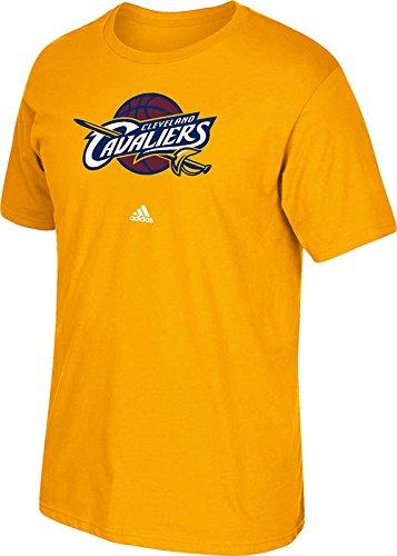 adidas Camiseta de la NBA para Hombre con Logotipo primario, Hombre, 3720A 008 MMQ7CAC, Dorado, Medium