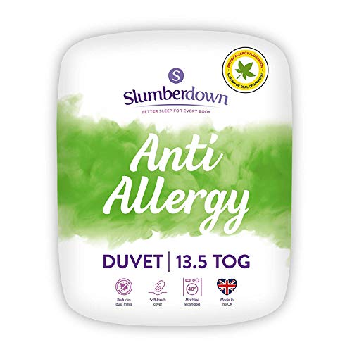 Slumberdown Anti Allergy King Size Duvet 13.5 Tog Winter Duvet King Size