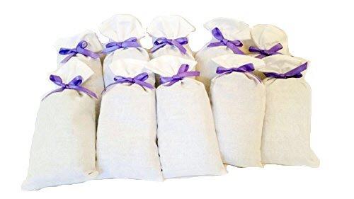 LAURI - The sense of Dalmatian Nature 10 x Lavendelsäckchen mit 100% kroatischem, natürlichem Lavendel in Premiumqualität - handgefertigte Duftsäckchen aus Kroatien