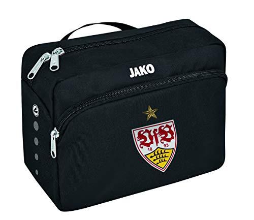 JAKO VfB Stuttgart Classico Kulturtasche, schwarz, One Size