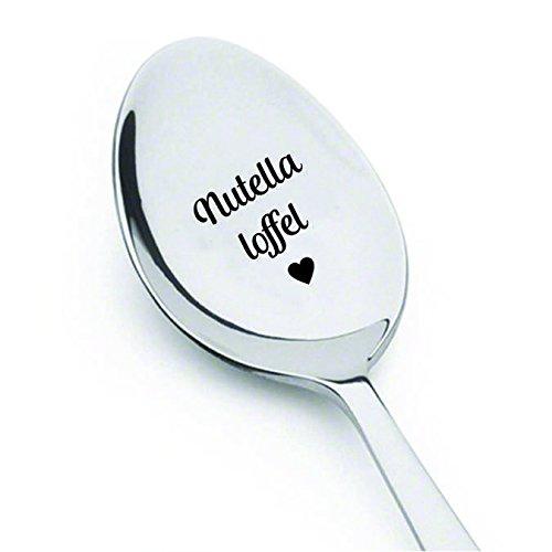 signatives Nutella Lover- Nutella L?Ffel | ID?E Regalo para los Amantes de Nutella | Regalo de Menos de 10?| Grav? Sobre Lengua Alemana