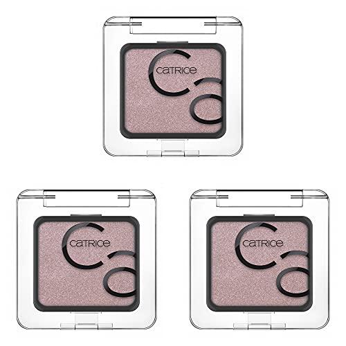 Catrice Art Couleurs Eyeshadow, Lidschatten, Nr. 260 Every Eyes Darling, pink, langanhaltend, schimmernd, strahlend frisch, farbintensiv, vegan, Nanopartikel frei, 3er Pack (3 x 2,4g)