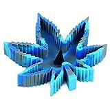 cendrier cendrier Exterieur CDFSG Cendrier Portatif Résistant À La Feuille Silicone Résistant À La Chaleur pour Cendrier De Voiture Décoratif 130 * 124mm Gris Bleu Clair