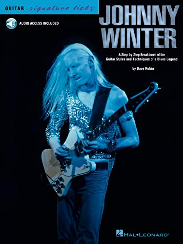 Guitar Signature Licks: Johnny Winter: Noten, CD, Lehrmaterial, Tabulatur für Gitarre