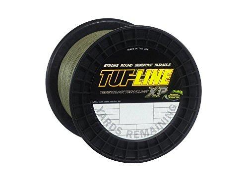 Tuf-Line XP Spectra Angelschnur, geflochten, 600 Yard, XP651200GN, grün, 1200-Yard/65-Pound