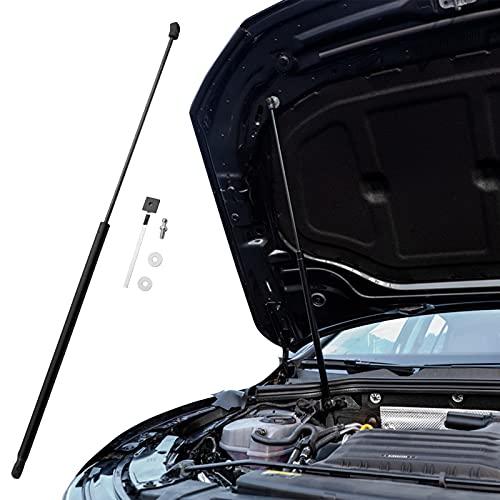 LFOTPP Motorhauben Gasfeder für V W Golf 8 MK8, Schwarze Gasdruckfeder Motorhaube, 1 Stück