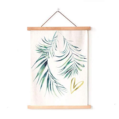 Europäischen Stil Pflanzen kleine frische axt malerei Stoff malerei Sofa wanddekoration malerei B & B Hintergrund wandbehang 08 50x70 cm Baumwolle und leinen