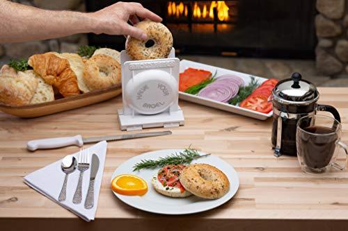 HalveYourBagel - The Best Bagel and Bread Slicer