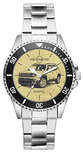 Regalo para Jeep Renegade Fan Conductor Kiesenberg Reloj 6287