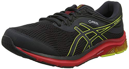 Asics Gel-Pulse 11 G-TX, Zapatillas de Running Hombre, Gris (Graphite Grey/Sour Yuzu 020), 41.5 EU