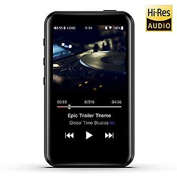 FiiO M6 Hi-Res Lossless MP3 Music Player with HiFi Bluetooth aptX HD/LDAC USB Audio/DAC,DSD/Tidal/Spotify Support and WiFi/Air Play Full Touch Screen