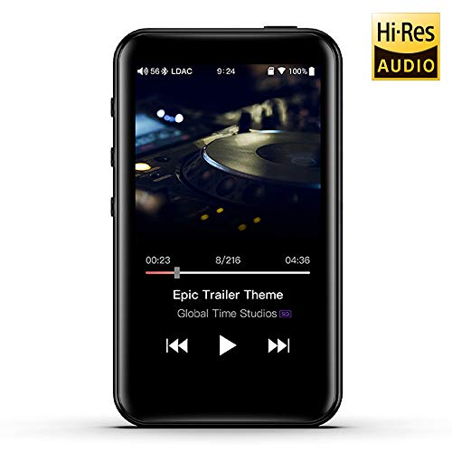 FiiO M6 Hi-Res Lossless MP3 Music Player with HiFi Bluetooth aptX HD/LDAC, USB Audio/DAC,DSD/Tidal/Spotify Support and WiFi/Air Play Full Touch Screen