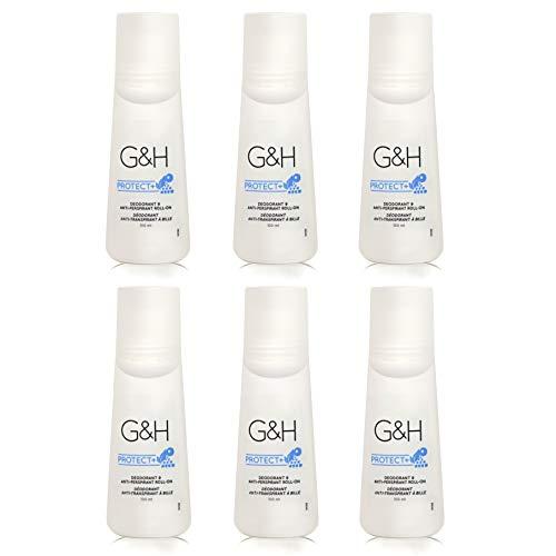 Deodorant und Anti-Perspirant Roll-on - G&H PROTECT+™ - 6 x 100 ml (600ml) - Amway - (Art.-Nr.: 118120)