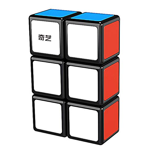 GoodCube 1x2x3 Floopy Cube Black 1x2x3 Speed Cube Puzzle