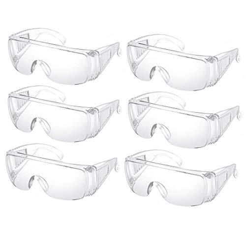Univet 511Kinder-Schutzbrille, transparent