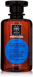 APIVITA PROPOLINE TONIC SHAMPOO FOR THINNING HAIR FOR MEN 8.5 FL. OZ. 250ML