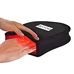 TUOB 660nm LED Red Light and 880nm Near Infrared Light Therapy Devices for Hand Pain Relief