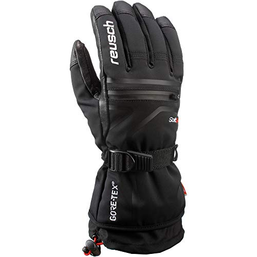 Reusch Herren Down Spirit GTX Handschuhe, Black/White, 9