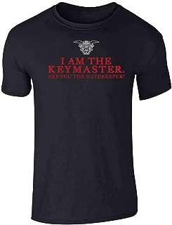 I Am The Keymaster are You The Gatekeeper Short Sleeve T-Shirt