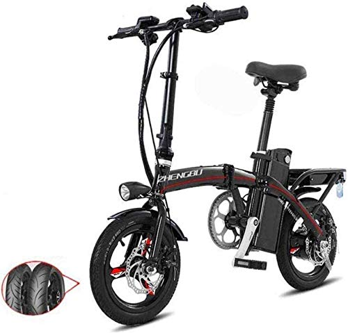 Bicicleta eléctrica de nieve, Bicicletas eléctricas rápida for adultos Ligero y plegable de aluminio E-bicicleta con pedales ayuda de la energía y 48V de iones de litio bicicleta eléctrica con un 14 p