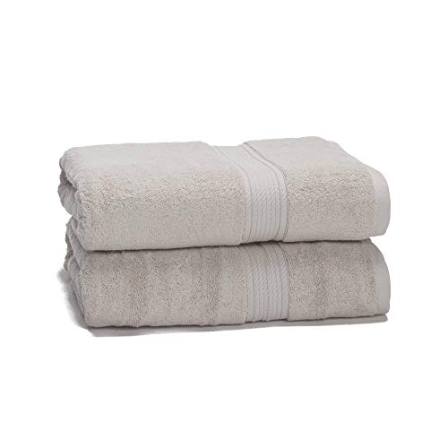 """eLuxurySupply 900 GSM 100% Egyptian Cotton Towel Set for Mother's Day - 2-Piece 900 GSM Bath Towel Set - Premium Spa & Hotel Quality Heavy Weight - 30"""" x 55"""" Parent Color"""