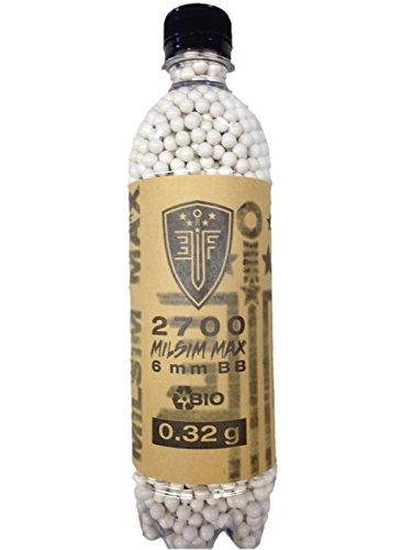 Elite Force MILSIM MAX BIO WHITE 0.32 gram 2700 ct Bottle
