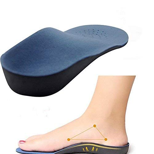 SPARSH 4.0 Velour Fabric Flat Feet Correcting Medial Arch Support Insoles (Size 39-42, 6-9)