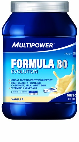 Multipower Formula 80 Evolution, Vanilla, 750 g