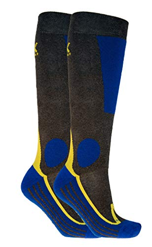 Völkl Ski All Terrain Socks 2er Pack anthrazit, Size:43-46, Farben:anthracite
