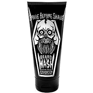 GRAVE BEFORE SHAVE BEARD WASH SHAMPOO 6oz. Tube 1