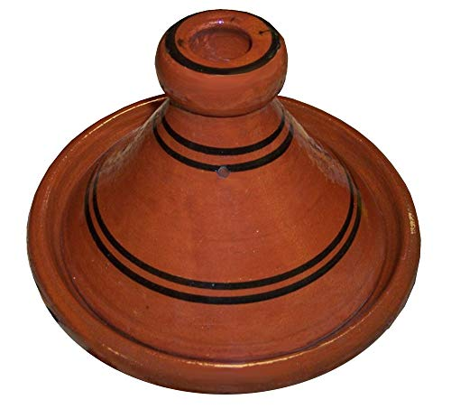 Cooking Tagines Wave Pattern Moroccan Pot Small