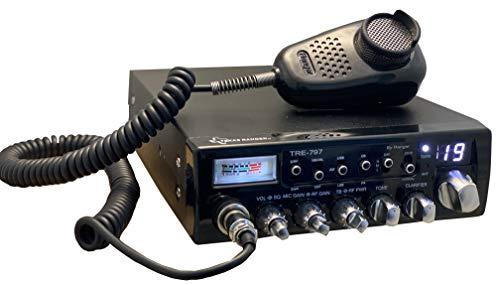 New Texas Ranger TRE-797 Professional 40 Channel AM/SSB Mobile CB Radio.