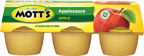 Mott's Apple Sauce, 6 - 4 oz (113 g) cups [24 oz (678 g)]