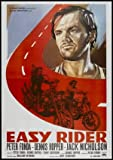 Easy Rider - Jack Nicholson - Italian – Movie Wall Poster