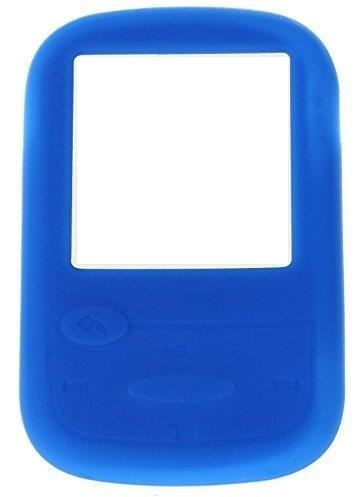 Carcasa de Silicona Funda para SanDisk Sansa Clip Sport Mp3Reproductor Azul Azul
