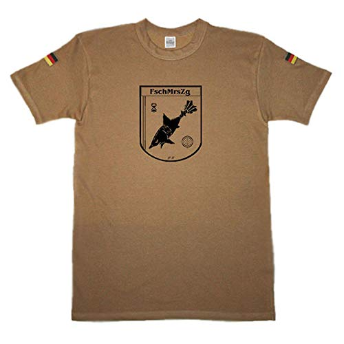Copytec BW Tropen Fallschirmjägermörserzug Seedorf FschMrsZg Mörser Hai Granate #14446, Größe:3XL (XXXL), Farbe:Khaki