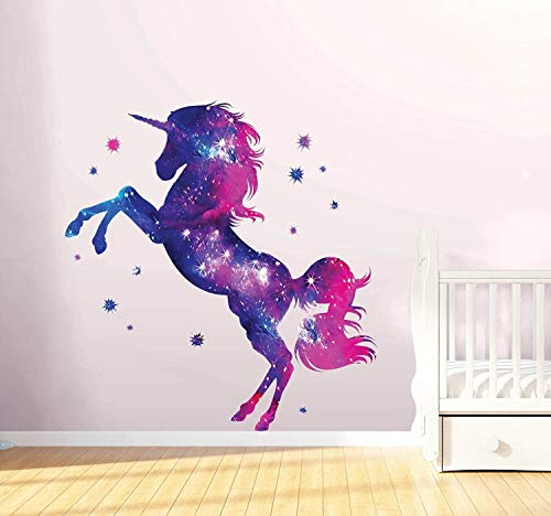 LHY Fashion Stars wall stickers fantasy girl bedroom wall art cute care decals Exquisite