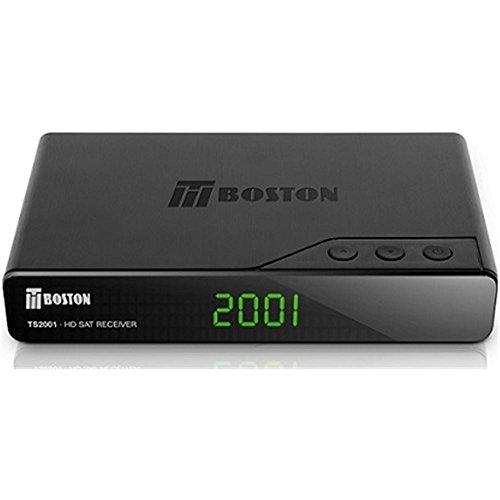 Tboston TS-2001 - Receptor satélite de sobremesa (TS-2001 / WIFI / 2x USB / MP3 / PVR/DVB-S2)