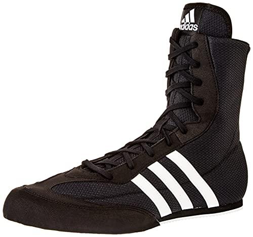 adidas Box Hog 2, Boxing Shoe Hombre, Core Black/Footwear White/Core Black, 41 1/3 EU