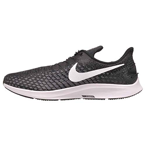 Nike FlyEase Air Zoom Pegasus 35 Black/White/Gunsmoke/Oil Grey 12 4E - Extra Wide