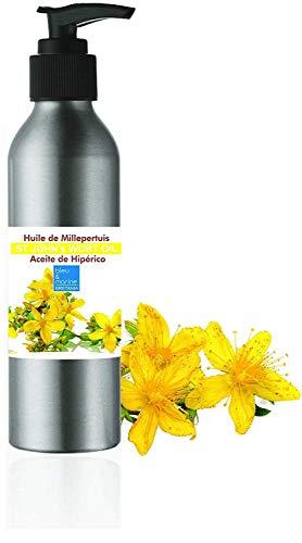 Aceite de masaje Hiperico, Aceite rojo de Hipérico Hierba de San Juan...