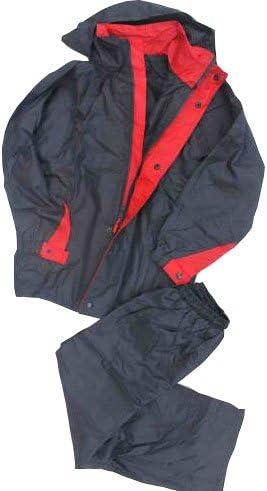 Greyhound New Boys Black/red Rain Wind Proof Jacket Age 8-16 Yrs